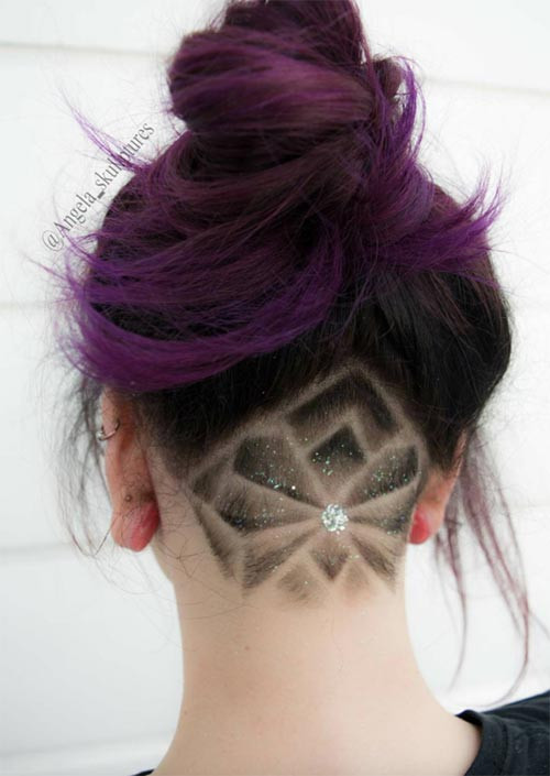 Best ideas about Undercut Hairstyle Female . Save or Pin 51 Long Undercut Hairstyles for Women In 2019 DIY Now.