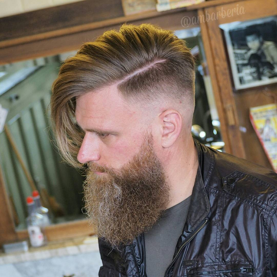 Best ideas about Undercut Hairstyle With Beard . Save or Pin 21 New Undercut Hairstyles For Men Now.