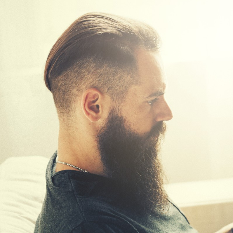Best ideas about Undercut Hairstyle With Beard . Save or Pin 42 Undercut with beard styles for men Now.