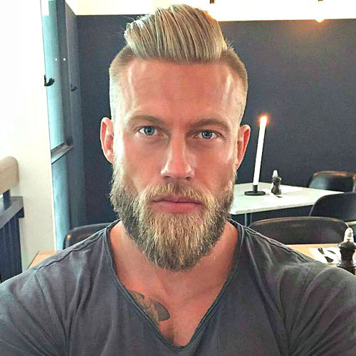 Best ideas about Undercut Hairstyle With Beard . Save or Pin 25 Men s Haircuts Women Love Now.