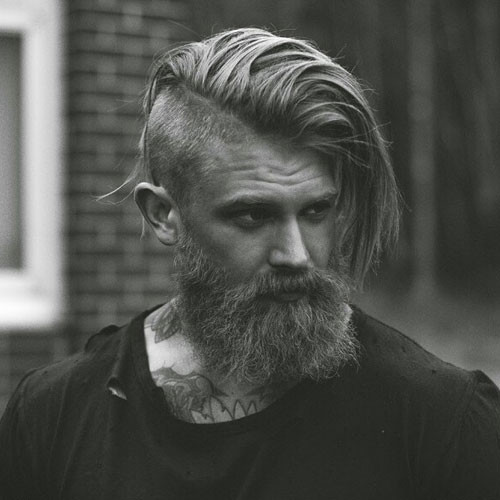 Best ideas about Undercut Hairstyle With Beard . Save or Pin Undercut with Beard Now.