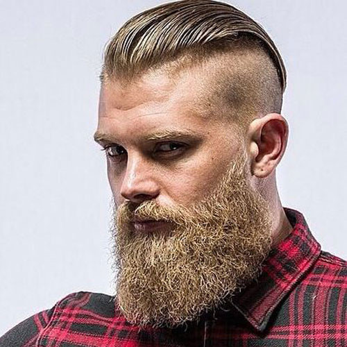Best ideas about Undercut Hairstyle With Beard . Save or Pin Manly Haircuts and Beards Now.