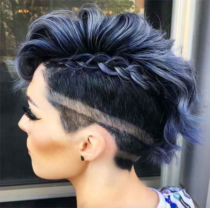 Best ideas about Undercut Hairstyles Female . Save or Pin 51 Edgy and Rad Short Undercut Hairstyles for Women Glowsly Now.