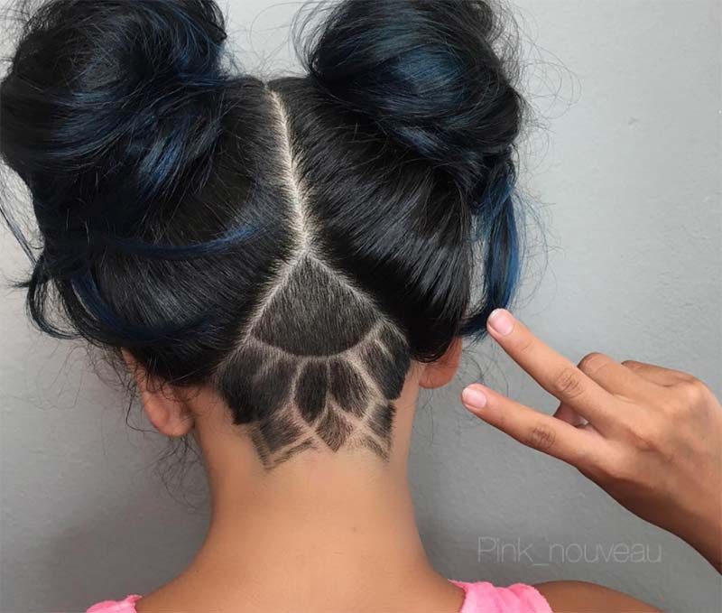 Best ideas about Undercut Hairstyles For Girls . Save or Pin 51 Long Undercut Hairstyles for Women In 2019 DIY Now.