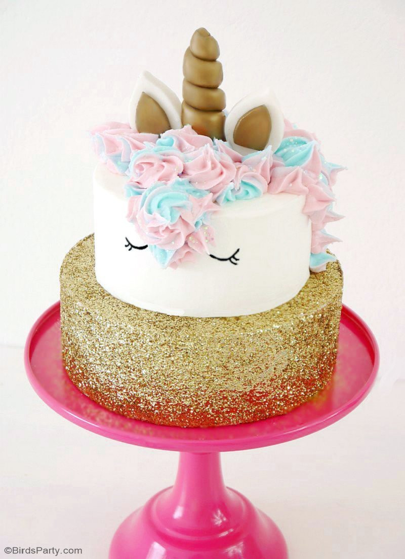 Best ideas about Unicorn Birthday Cake . Save or Pin How To Make a Unicorn Birthday Cake Party Ideas Now.