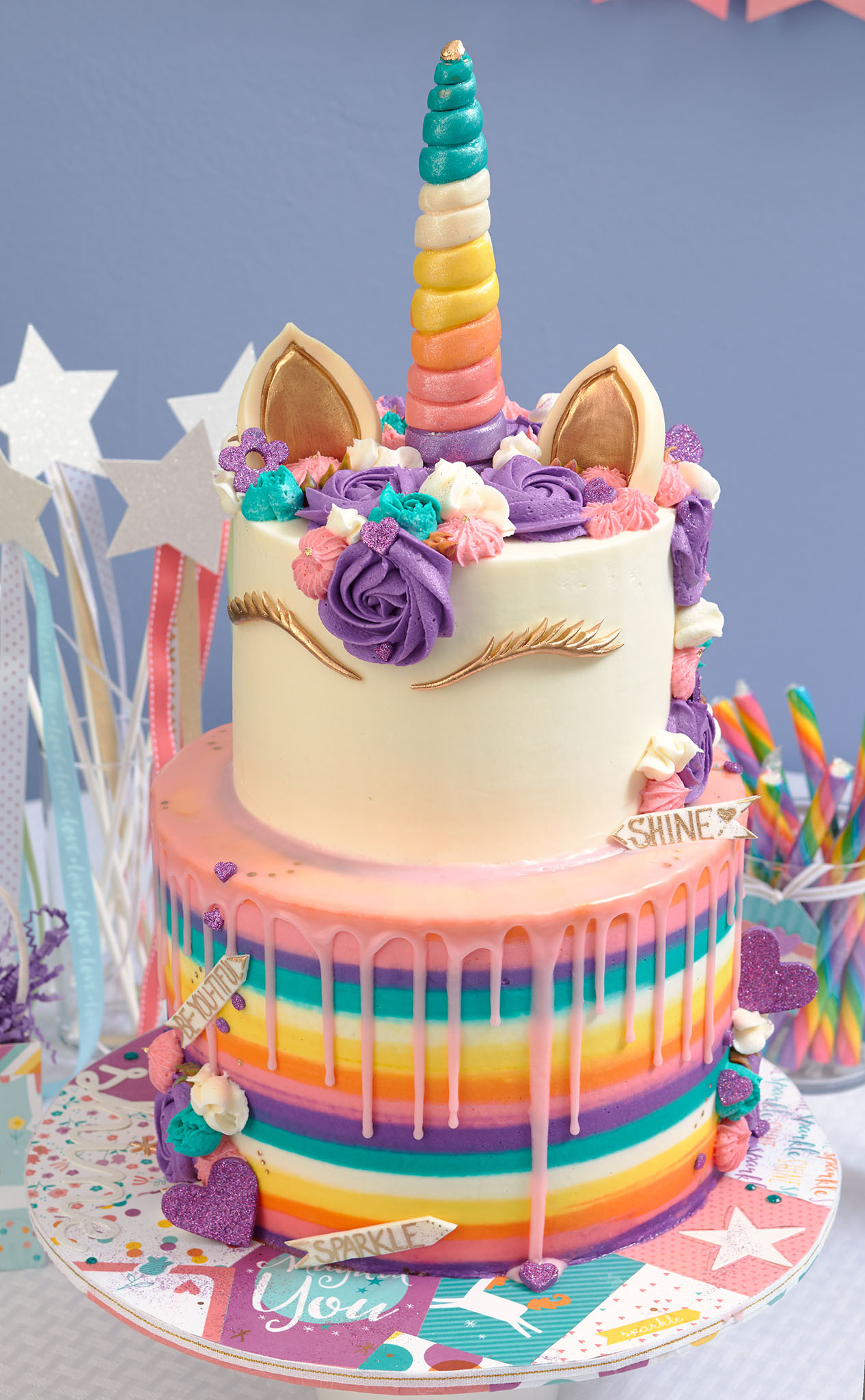 Best ideas about Unicorn Birthday Cake . Save or Pin This Unicorn Party Takes the Cake Now.