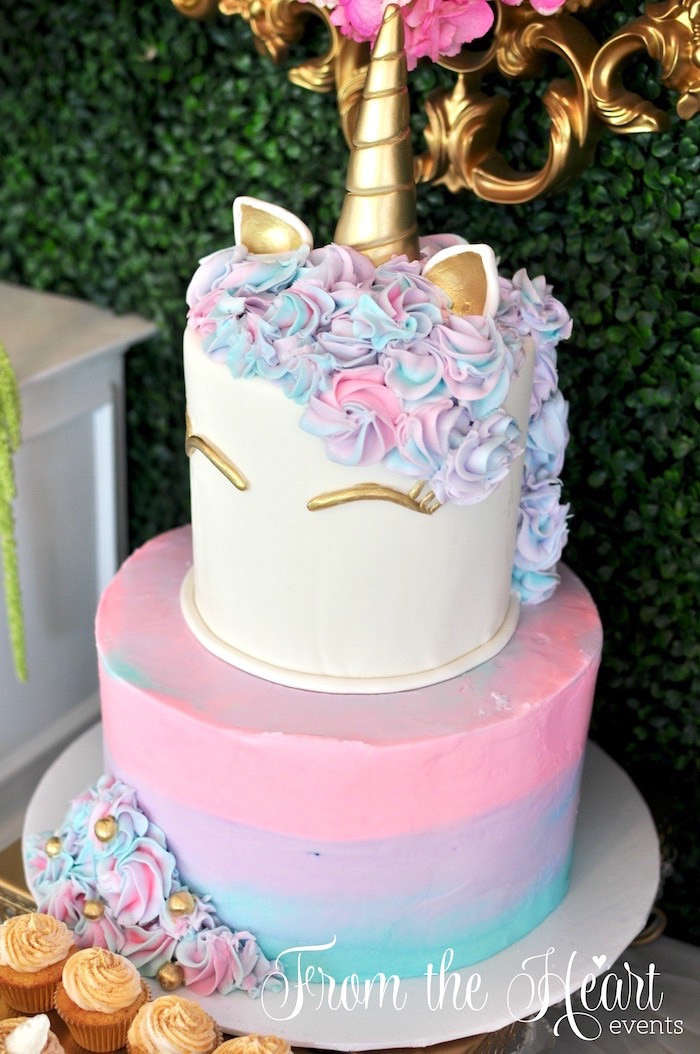Best ideas about Unicorn Birthday Cake . Save or Pin Kara s Party Ideas Vibrant Unicorn Birthday Party Now.