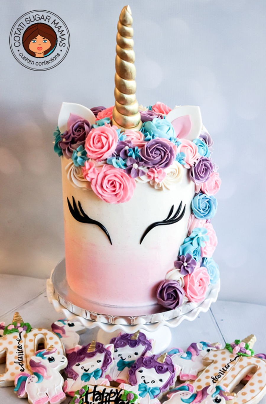 Best ideas about Unicorn Birthday Cake . Save or Pin Unicorn Themed Cake CakeCentral Now.