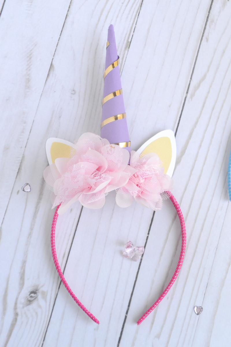 Best ideas about Unicorn Headband DIY . Save or Pin Aly Dosdall diy unicorn headband Now.