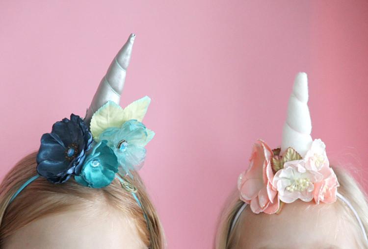Best ideas about Unicorn Headband DIY . Save or Pin How to make a unicorn headband DIY Now.