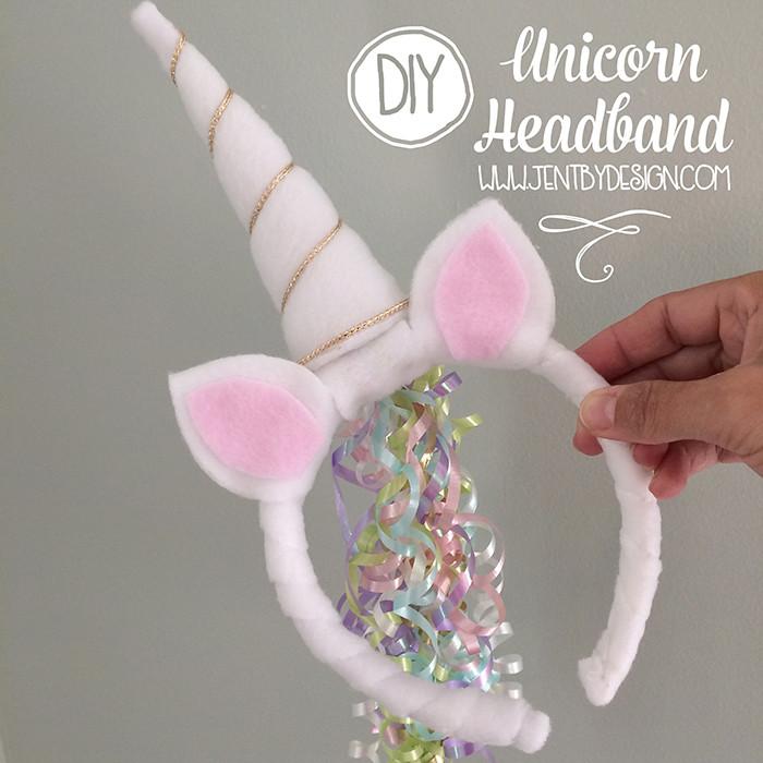 Best ideas about Unicorn Headband DIY . Save or Pin DIY Unicorn Headband Tutorial — Jen T by Design Now.