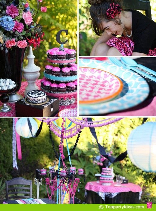 Best ideas about Unique 13th Birthday Party Themes . Save or Pin Party City 13th Birthday Party Ideas for Girls Now.