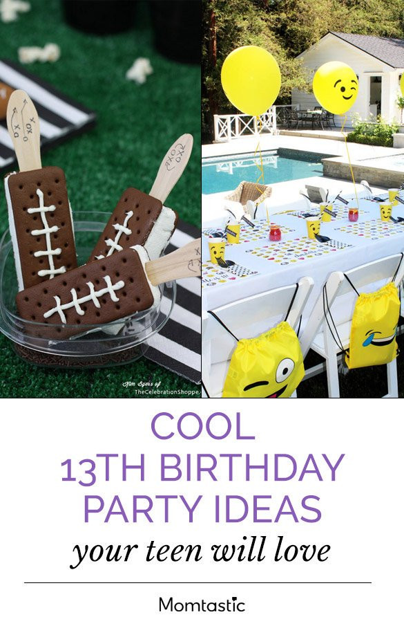 Best ideas about Unique 13th Birthday Party Themes . Save or Pin Cool 13th Birthday Party Ideas Your Teen Will Love Now.