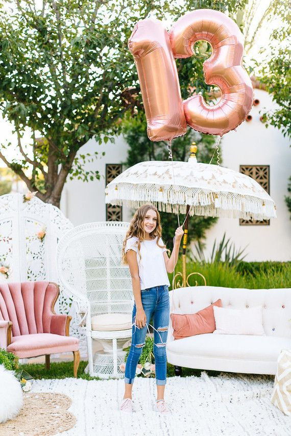 Best ideas about Unique 13th Birthday Party Themes . Save or Pin Unique feminine girlfriends 13th birthday party Now.