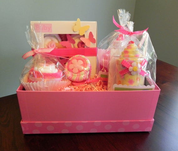 Best ideas about Unique Baby Girl Gift Ideas . Save or Pin BabyBinkz Gift Basket Unique Baby Shower Gift or Centerpiece Now.