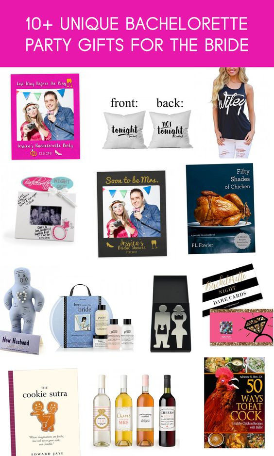 Best ideas about Unique Bachelorette Gift Ideas . Save or Pin Here are some really fun and unique bachelorette t Now.