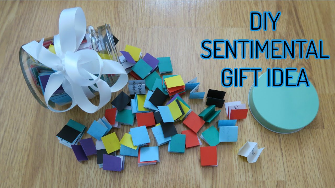 Best ideas about Unique Birthday Gift Ideas . Save or Pin DIY Sentimental Unique Gift Idea Birthdays Eid Now.