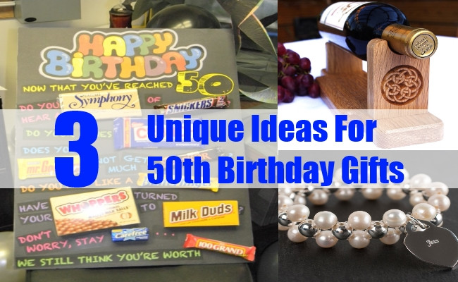 Best ideas about Unique Birthday Gift Ideas . Save or Pin Unique Ideas For 50th Birthday Gifts 50th Birthday Gifts Now.