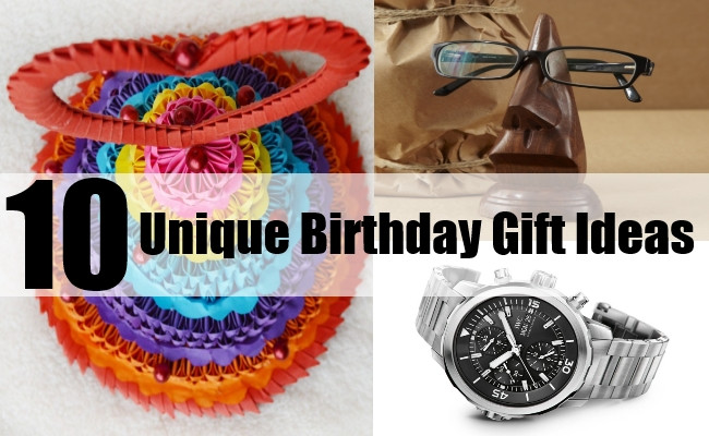 Best ideas about Unique Birthday Gift Ideas . Save or Pin 10 Unique Birthday Gift Ideas How To Find The Perfect Now.