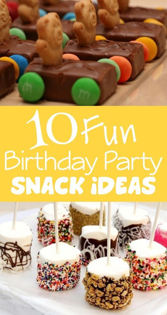 Best ideas about Unique Birthday Party Ideas . Save or Pin 10 Fun & Unique Birthday Party Snack Ideas these actually Now.