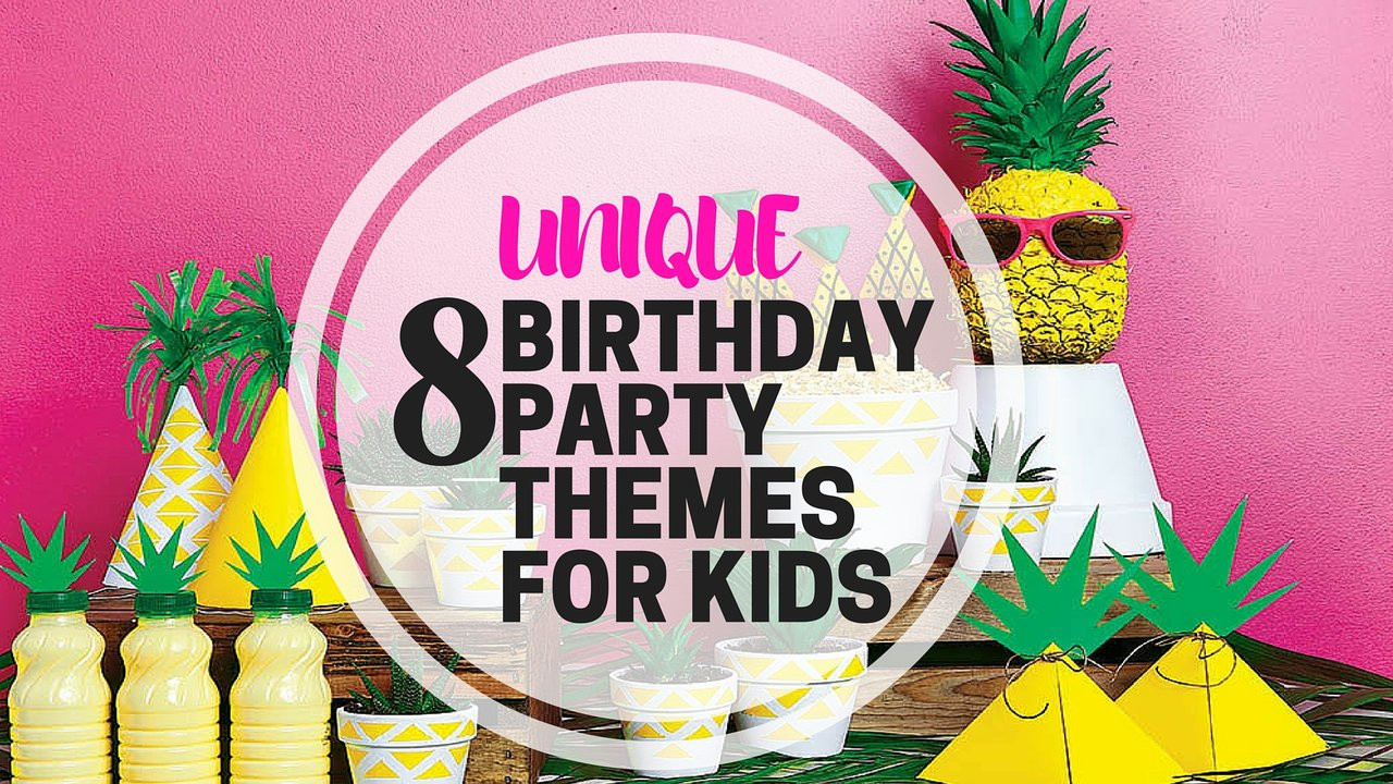 Best ideas about Unique Birthday Party Ideas . Save or Pin 8 Unique Birthday Party Themes For Kids PartyMojo Now.
