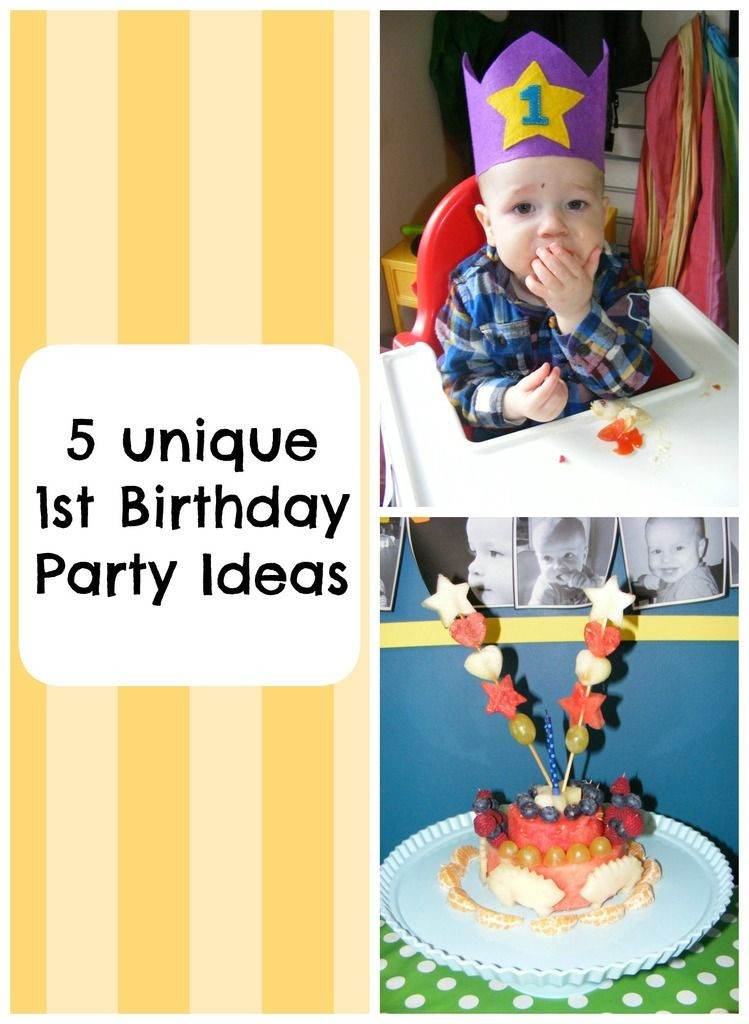 Best ideas about Unique Birthday Party Ideas . Save or Pin 5 Unique First Birthday Party Ideas Monkey and Mouse Now.