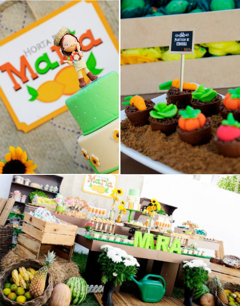 Best ideas about Unique Birthday Party Ideas . Save or Pin Kara s Party Ideas Fruit Garden Themed Girl Birthday Party Now.