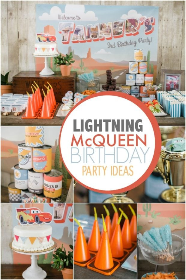 Best ideas about Unique Birthday Party Ideas . Save or Pin A Lightning McQueen Themed Boy s Birthday Party Now.