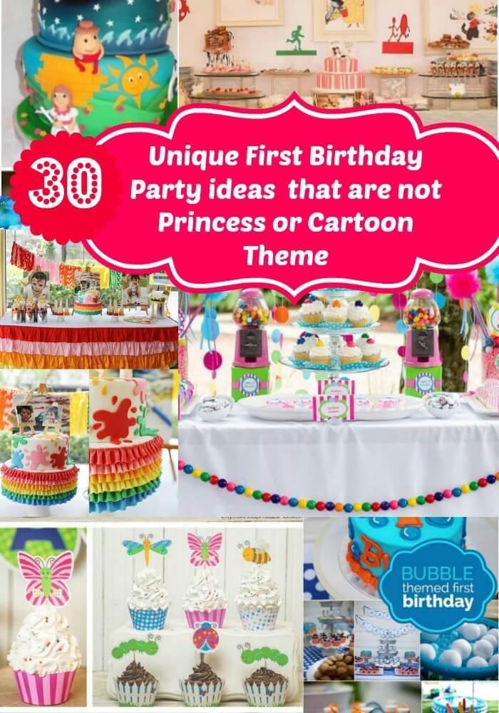 Best ideas about Unique Birthday Party Ideas . Save or Pin Unique First Birthday Party Ideas for Girls No Princess Now.