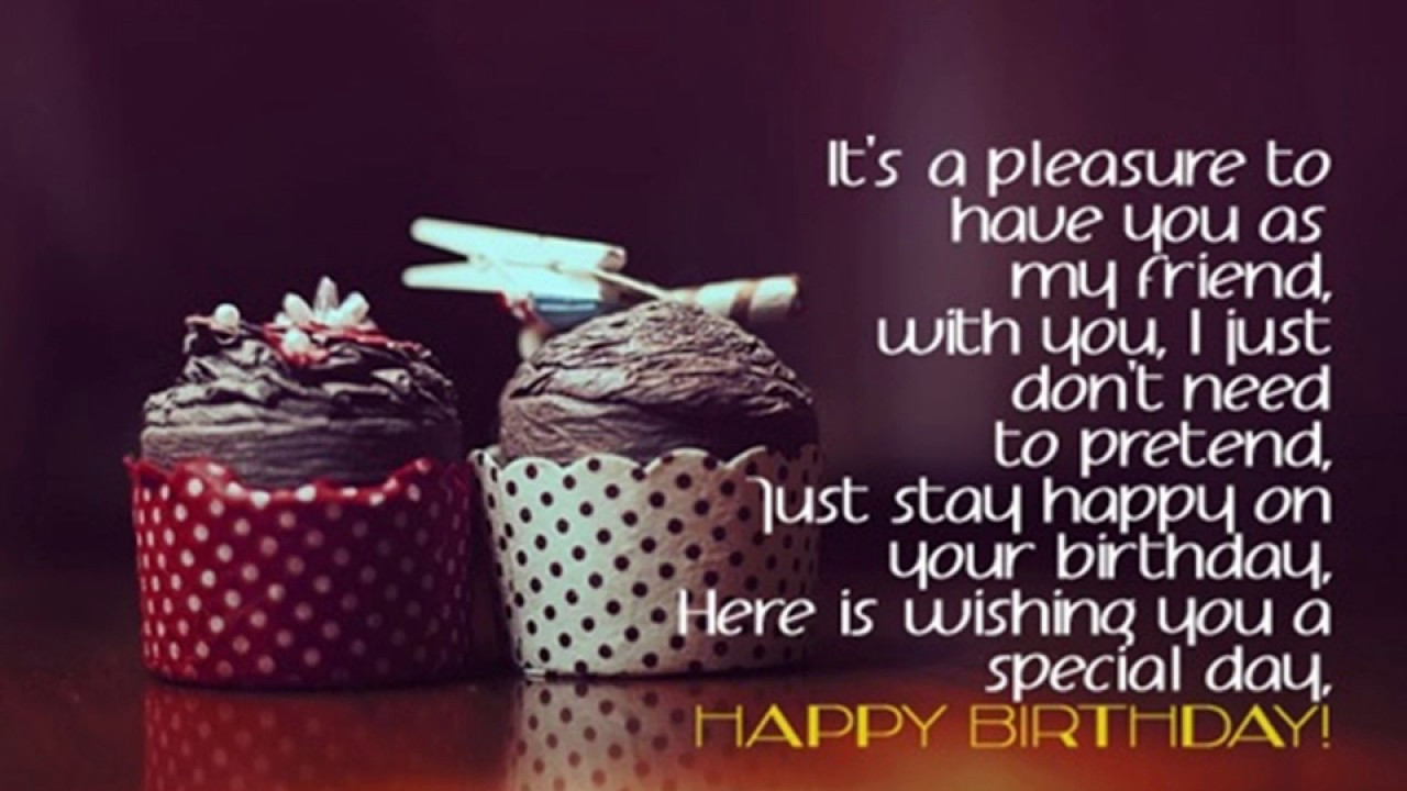 Best ideas about Unique Birthday Wishes For Friends . Save or Pin Birthday Wishes For Friends Best Bud s Bday Quotes with Now.