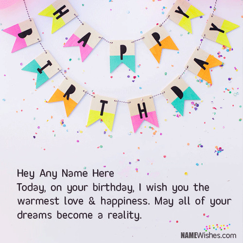 Best ideas about Unique Birthday Wishes For Friends . Save or Pin Unique Birthday Wish For Special Friends With Name Now.