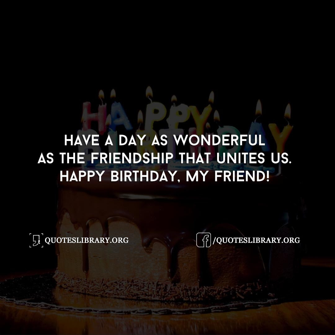 Best ideas about Unique Birthday Wishes For Friends . Save or Pin Birthday Wishes For Friend 60 Best Unique Special Now.