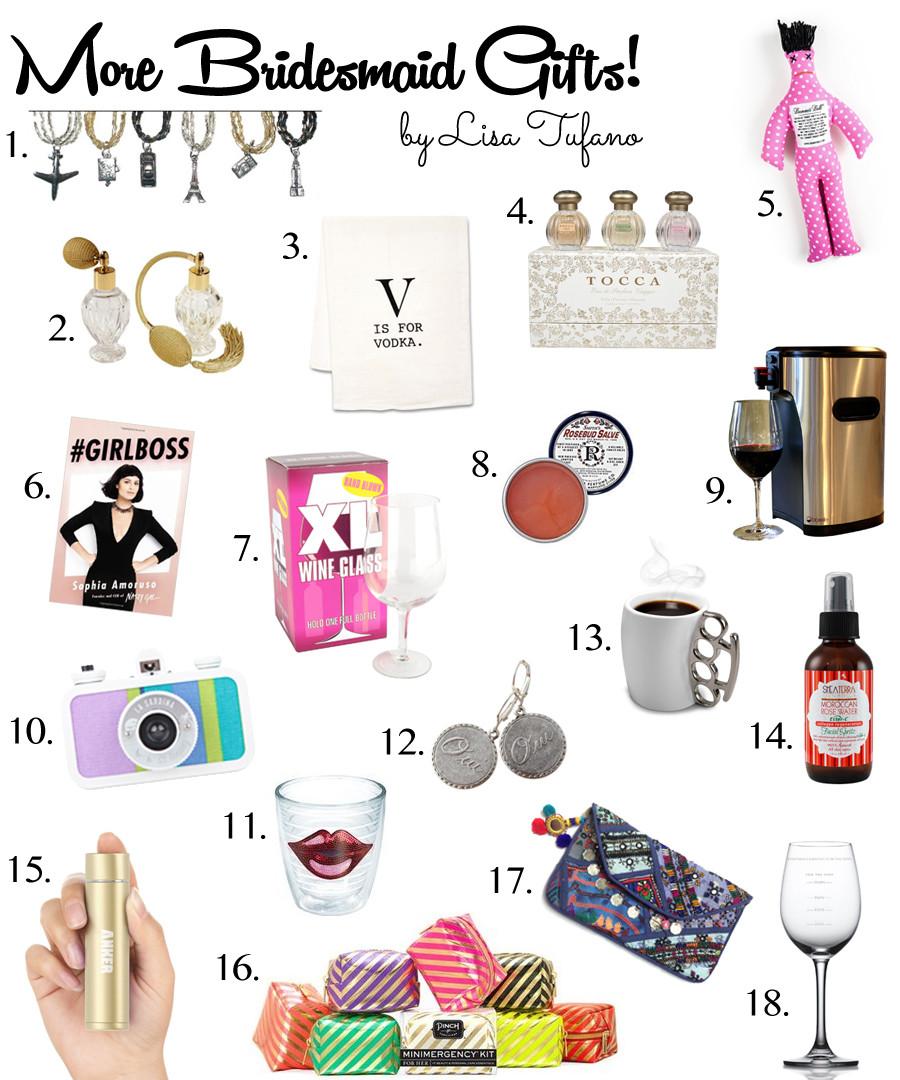 Best ideas about Unique Bridesmaid Gift Ideas . Save or Pin Creative Bridesmaid Gift Ideas Part II Now.