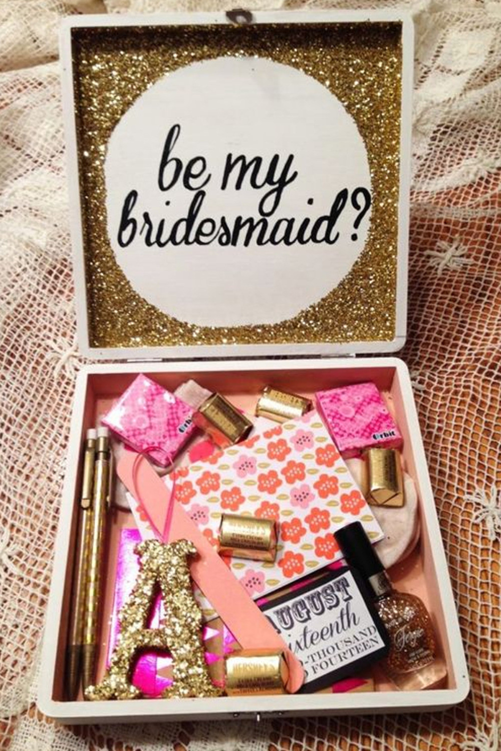 Best ideas about Unique Bridesmaid Gift Ideas . Save or Pin Trending Unique Will You Be My Bridesmaid Gift Ideas Now.