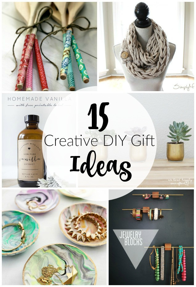 Best ideas about Unique DIY Gifts . Save or Pin 15 Creative DIY Gift Ideas Now.