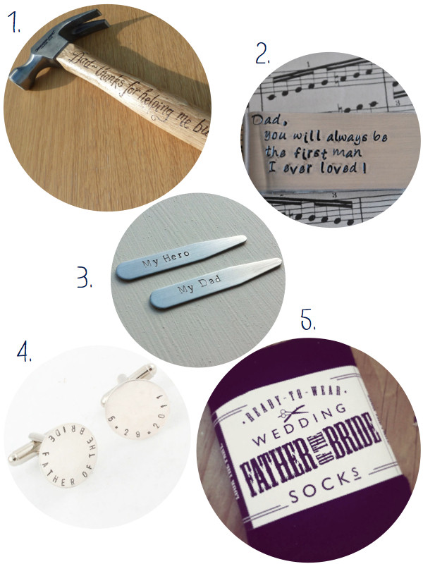Best ideas about Unique Father Of The Bride Gift Ideas . Save or Pin ETSY FINDS UNIQUE FATHER OF THE BRIDE GIFTS The Bijou Now.