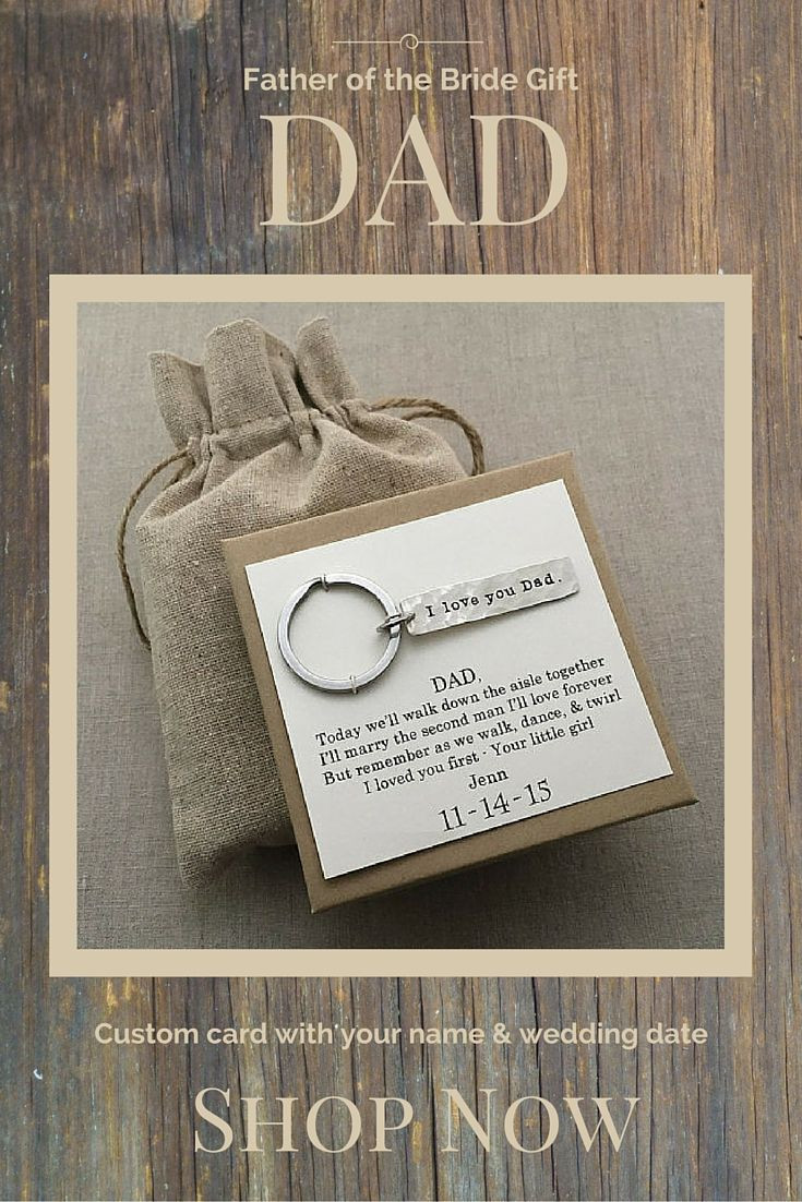 Best ideas about Unique Father Of The Bride Gift Ideas . Save or Pin Father of the Bride Gift from Bride Father of the Bride Now.