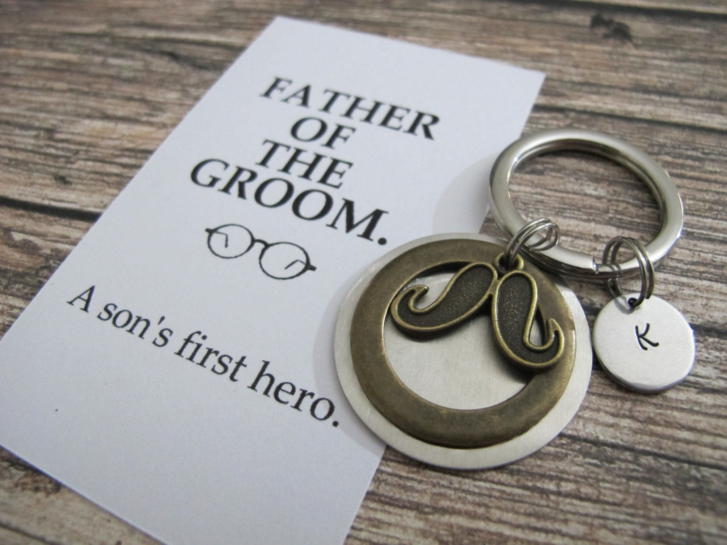 Best ideas about Unique Father Of The Bride Gift Ideas . Save or Pin FATHER of the GROOM t PERSONALIZED keychain a son s Now.