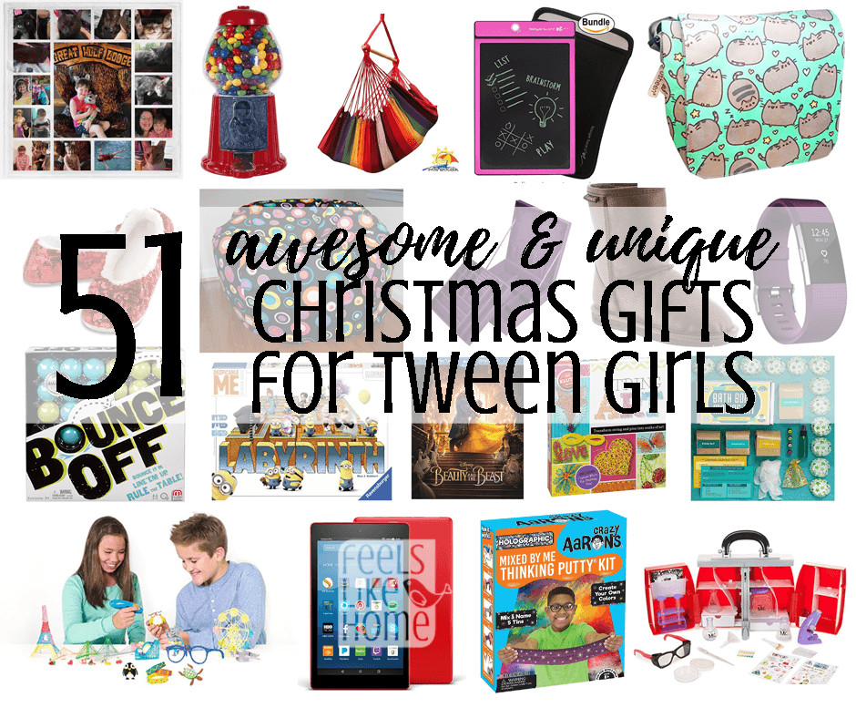 Best ideas about Unique Gift Ideas For Girls . Save or Pin 58 Awesome & Unique Christmas Gift Ideas for Tween Girls Now.