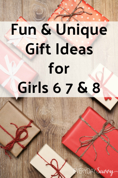 Best ideas about Unique Gift Ideas For Girls . Save or Pin Fun & Unique Gift Ideas Girls Ages 6 7 8 Now.