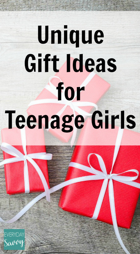 Best ideas about Unique Gift Ideas For Girls . Save or Pin Unique Gift Ideas for Teenage Girls Everyday Savvy Now.
