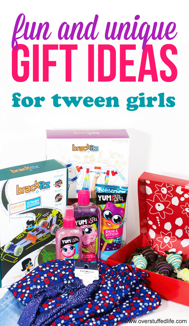Best ideas about Unique Gift Ideas For Girls . Save or Pin Fun and Unique Gift Ideas for Tween Girls Overstuffed Now.