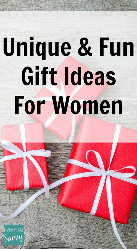 Best ideas about Unique Gift Ideas For Women . Save or Pin Women Christmas Gift Ideas Now.