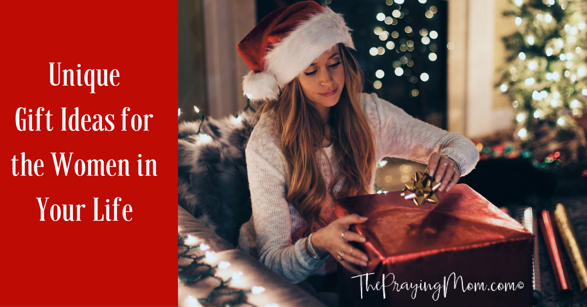 Best ideas about Unique Gift Ideas For Women . Save or Pin Unique Gift Ideas for the Women in Your Life The Praying Mom Now.