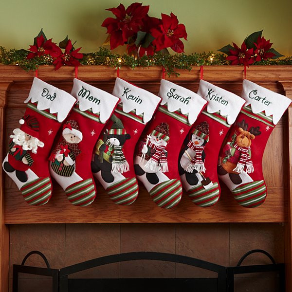 Best ideas about Unique Holiday Gift Ideas . Save or Pin Personalized Christmas Stockings at Personal Creations Now.