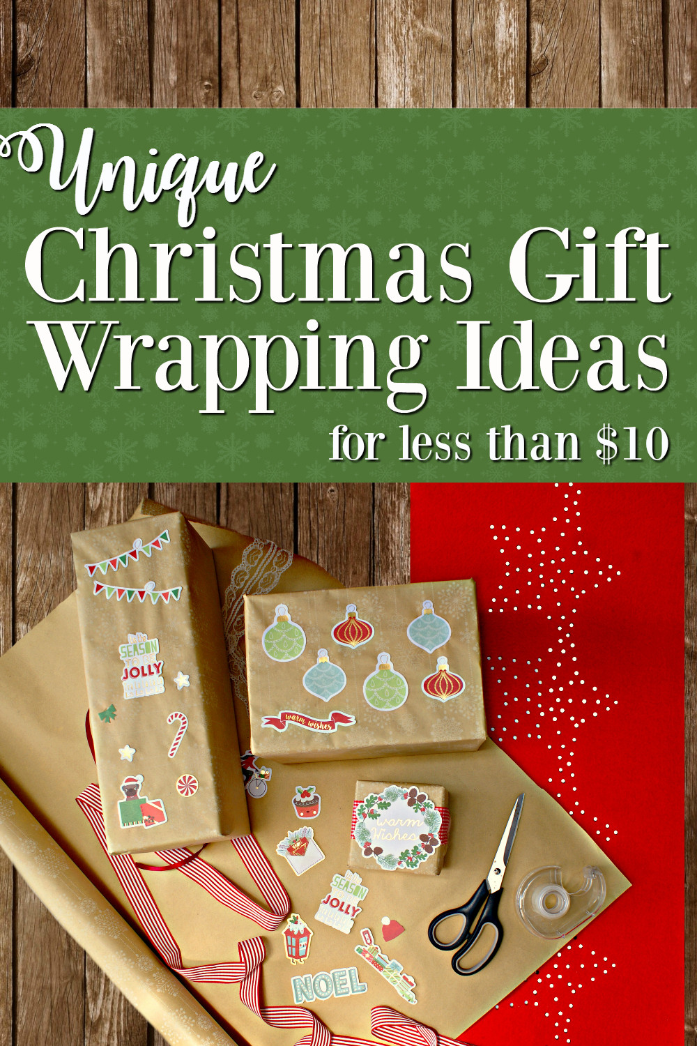 Best ideas about Unique Holiday Gift Ideas . Save or Pin Southern In Law Unique Gift Wrapping Ideas for Christmas Now.