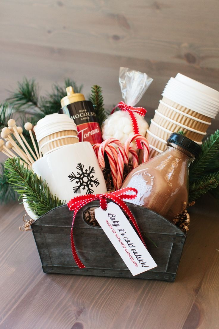 Best ideas about Unique Holiday Gift Ideas . Save or Pin Christmas Baskets Ideas Now.
