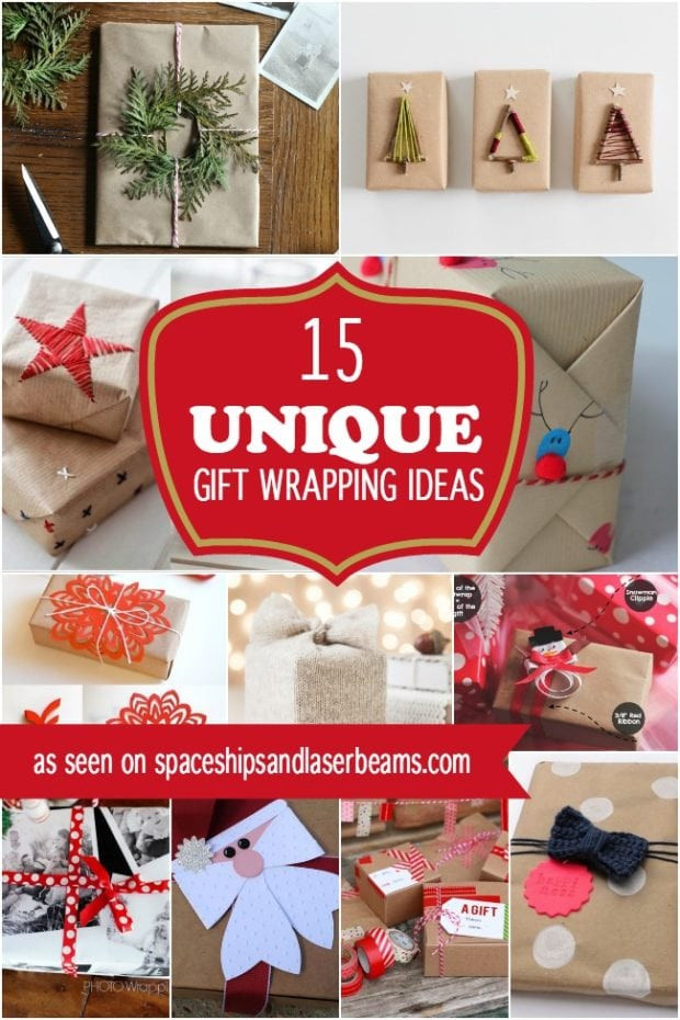 Best ideas about Unique Holiday Gift Ideas . Save or Pin 15 Unique Christmas Gift Wrapping Ideas Now.