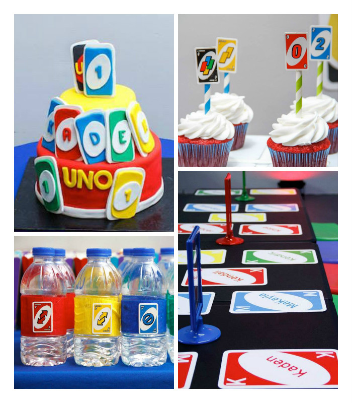 "Best ideas about Uno Birthday Party . Save or Pin Kara s Party Ideas ""Uno"" Themed 1st Birthday Party via Now."