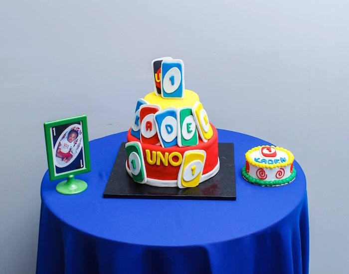 "Best ideas about Uno Birthday Party . Save or Pin Kara s Party Ideas ""Uno"" Themed First Birthday Party Now."
